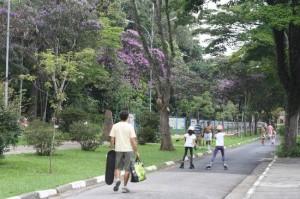 Área do Parque do Instituto Butantan