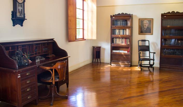 O interior do Museu Emilio Ribas - Foto: Instituto Butantan