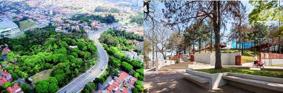 Parques e áreas verdes no Butantã